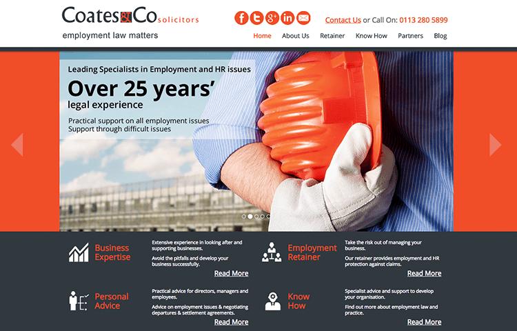 coates website design Wakefield