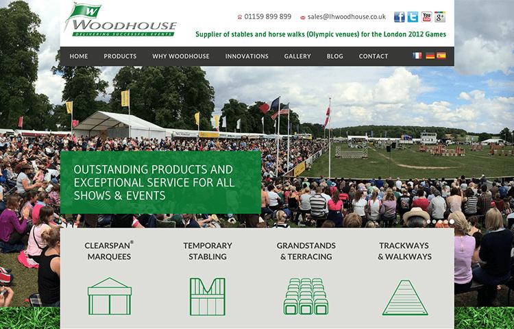 woodhouse website design Wakefield